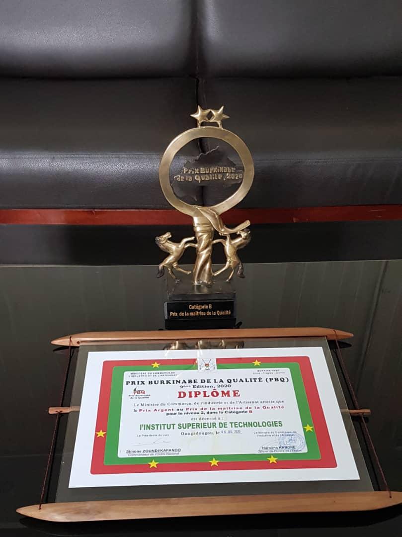 Quality control award